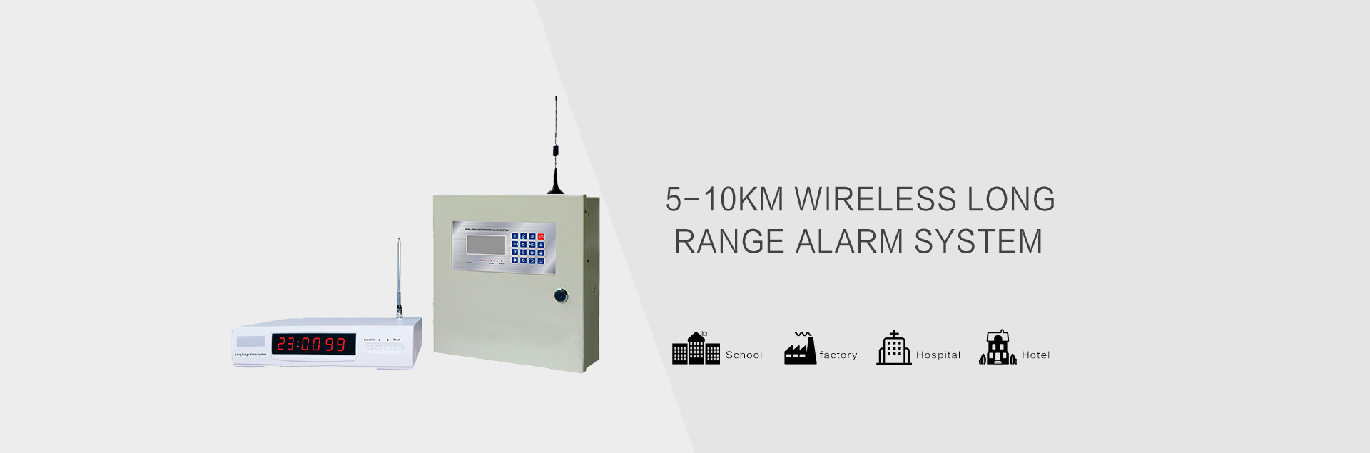 wireless long range fire alarm system,burglar alarm sytem