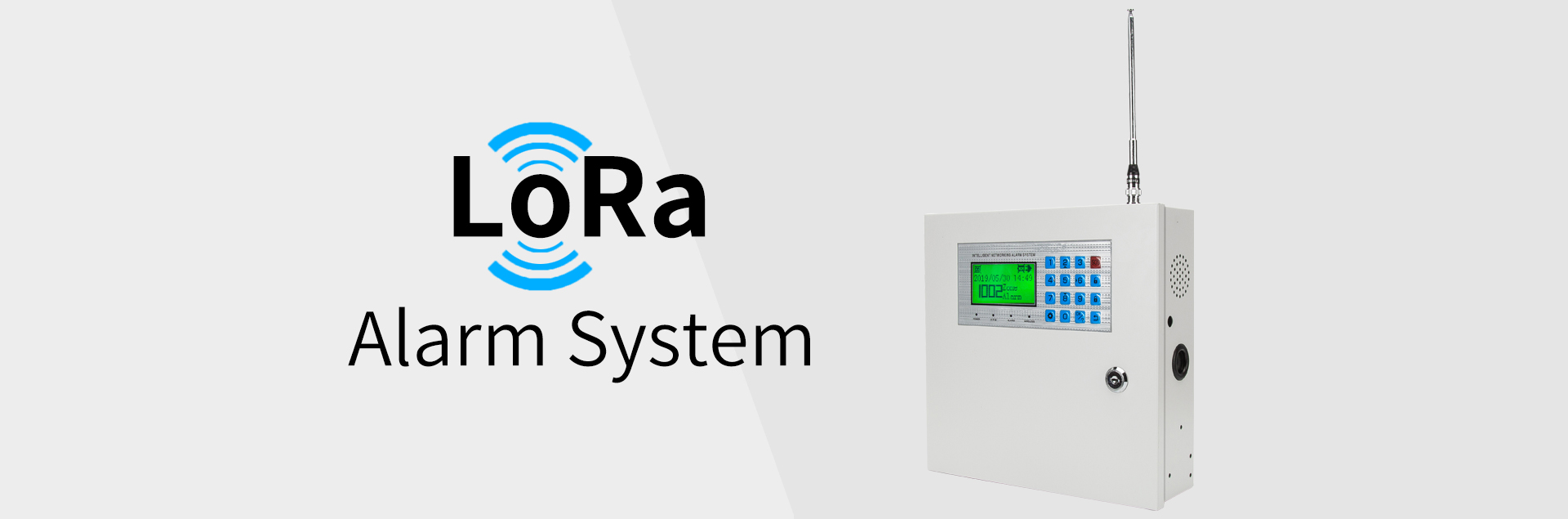 LoRa Wireless Alarm System