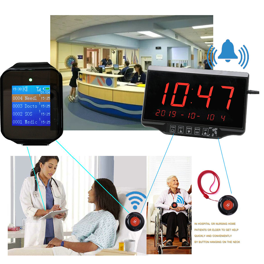 wireless patient calling solution